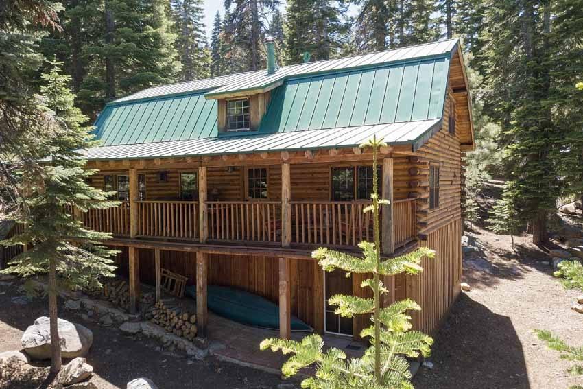 SOLD! Tahoe Donner Log Cabin