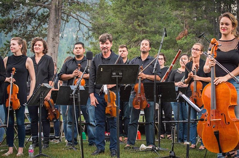 Bravo! Photo from Lake Tahoe Music Festival  website.