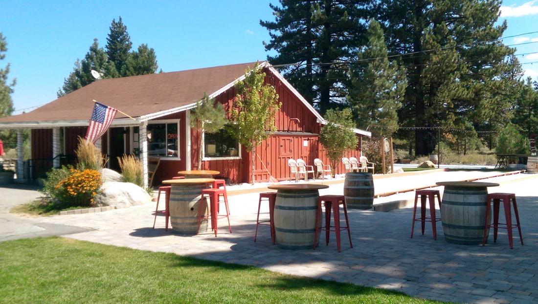 Truckee River Winery, photo from  website .
