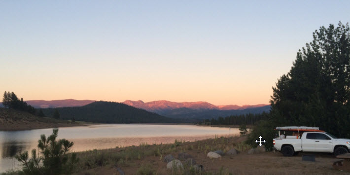 Prosser is easy to access! Photo from  Visit Truckee .