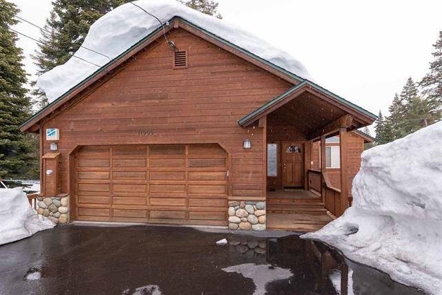 SOLD! Sunny and Open Tahoe Donner Cabin