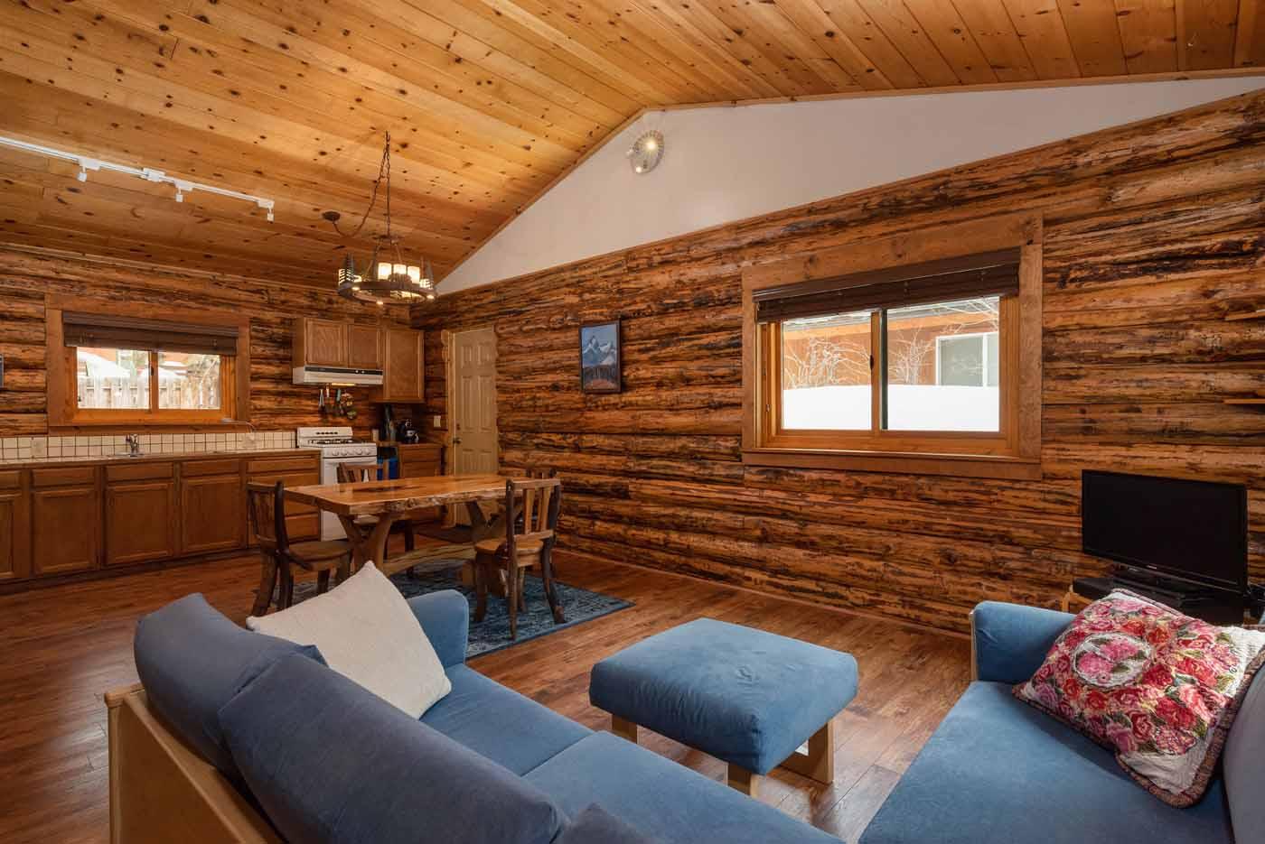SOLD! Charming Log Cabin Under $400k