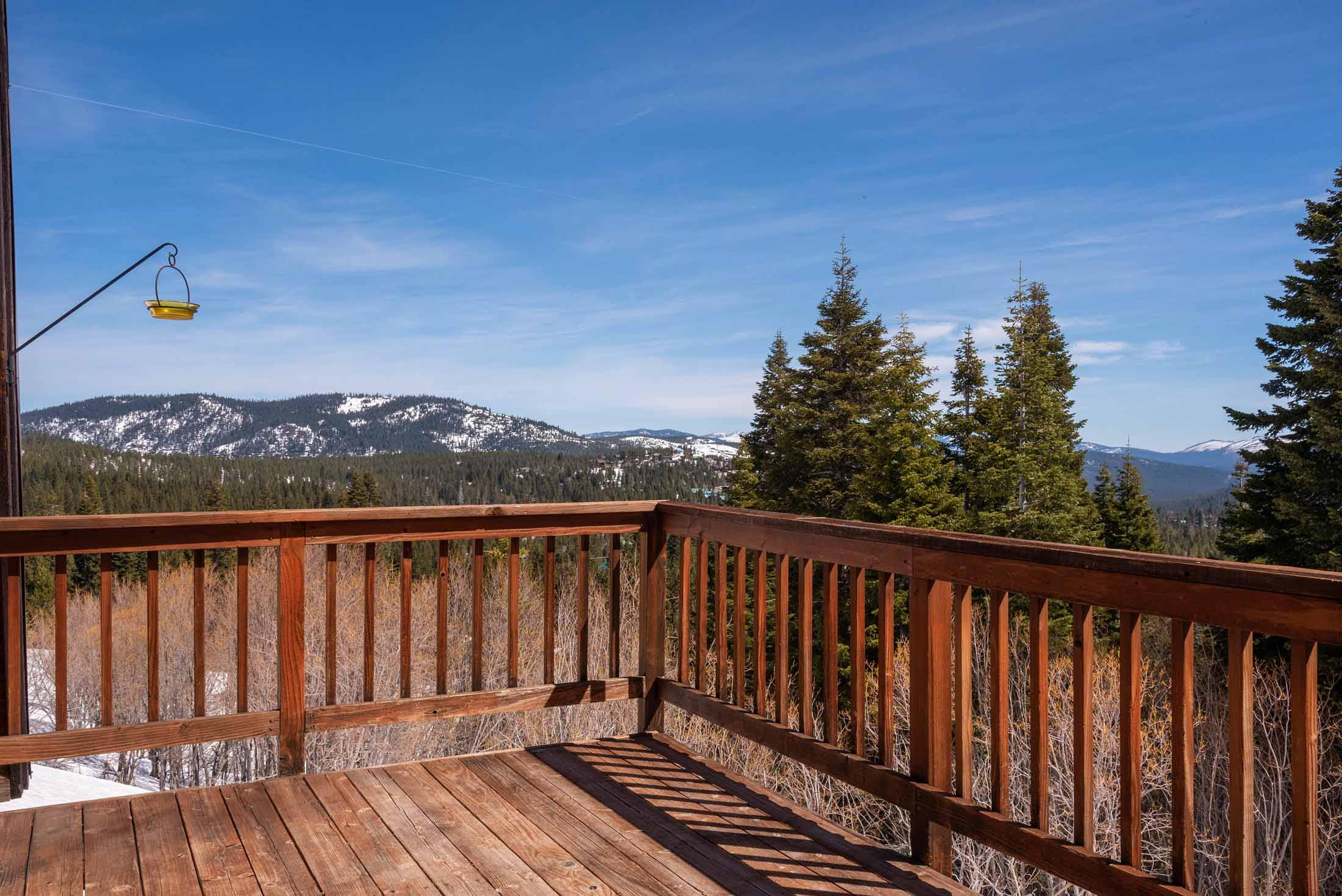 SOLD! Stunning Views from this Tahoe Donner Cabin