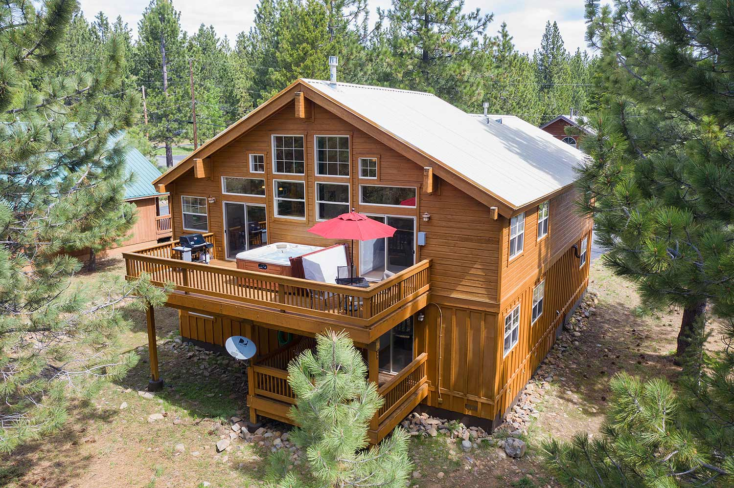 Tahoe Donner Home Perfect for Entertaining