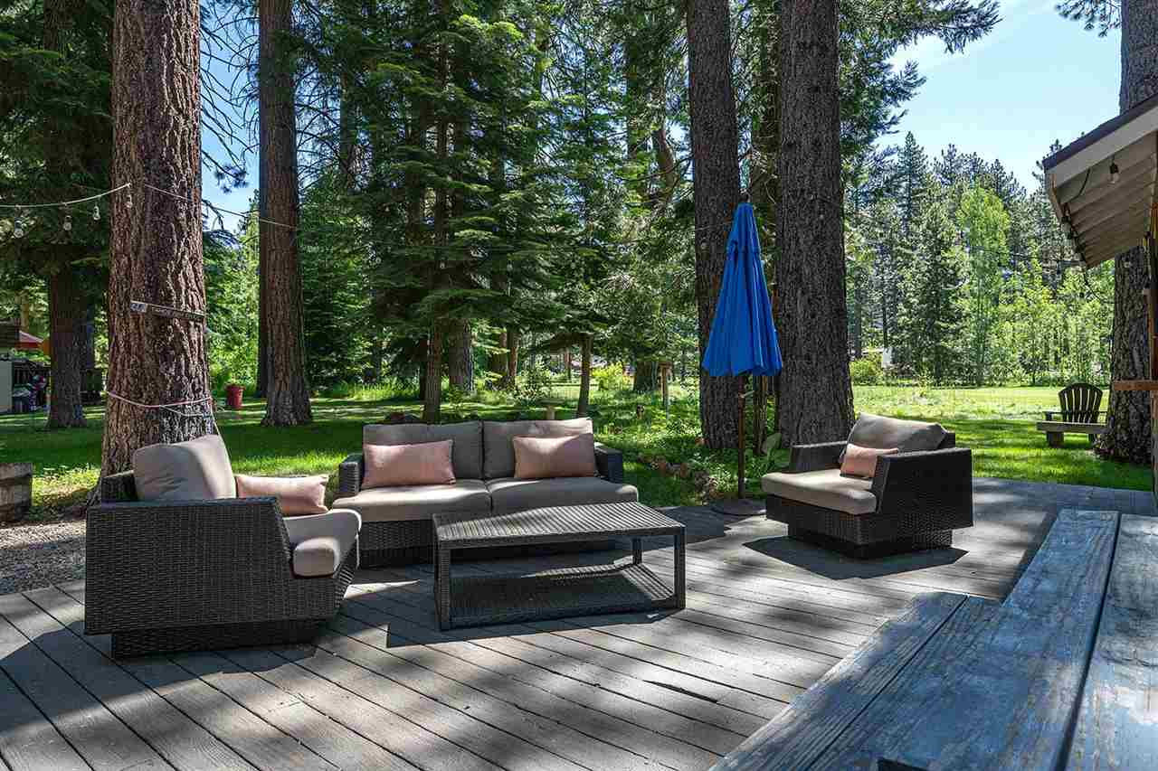 Golf Course Home Steps from Lake Tahoe