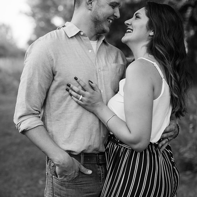 I just can't take it...this session was so fun!  #omahaphotographer #nebraskaphotographer #omahaengagementphotographer