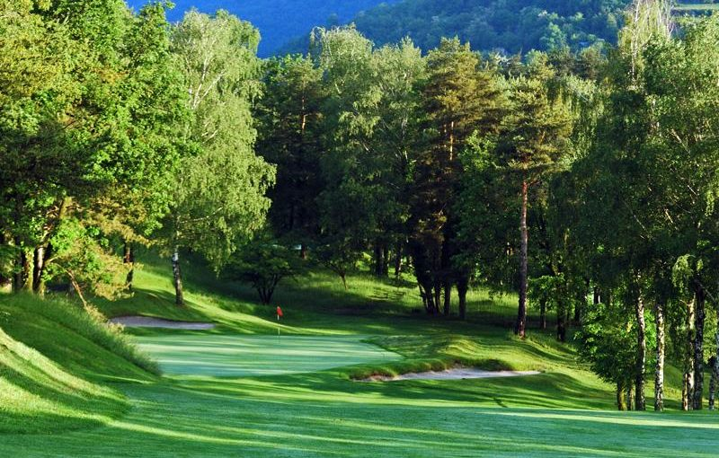 Menaggio and Cadenabbia golf club lake como