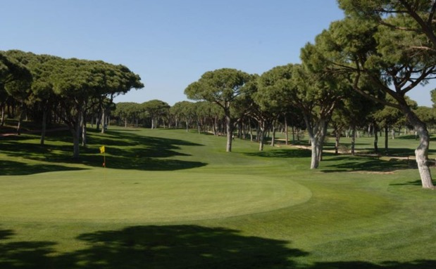 Situated in the heart of Vilamoura 20-minute drive from Faro airport, it's one of the oldest in the region and renowned all over the golfing world. The 'Grande Dame' of Algarve courses, it meanders throughout impressive pine trees over gently undulating natural terrain. This course opened in 1969 and was designed by Frank Pennink.