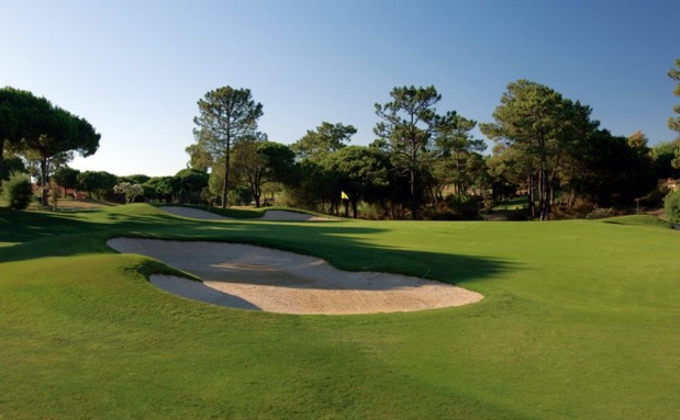 One of the most popular golf courses in Portugal and finest in Europe, San Lorenzo Golf course enjoys a magnificent location on the exclusive Quinta do Lago estate in the Algarve. Designed by Joe Lee, the course is laid out in a figure of eight. San Lorenzo is surrounded by some of the most appealing landscapes in the Algarve: the serene Ria Formosa estuary, with its shallow lagoons and golden beaches, provides a suitably beguiling backdrop. The course is only open to Sophisticated Golfer's clients staying at the glamorous Dona Filipa Hotel.