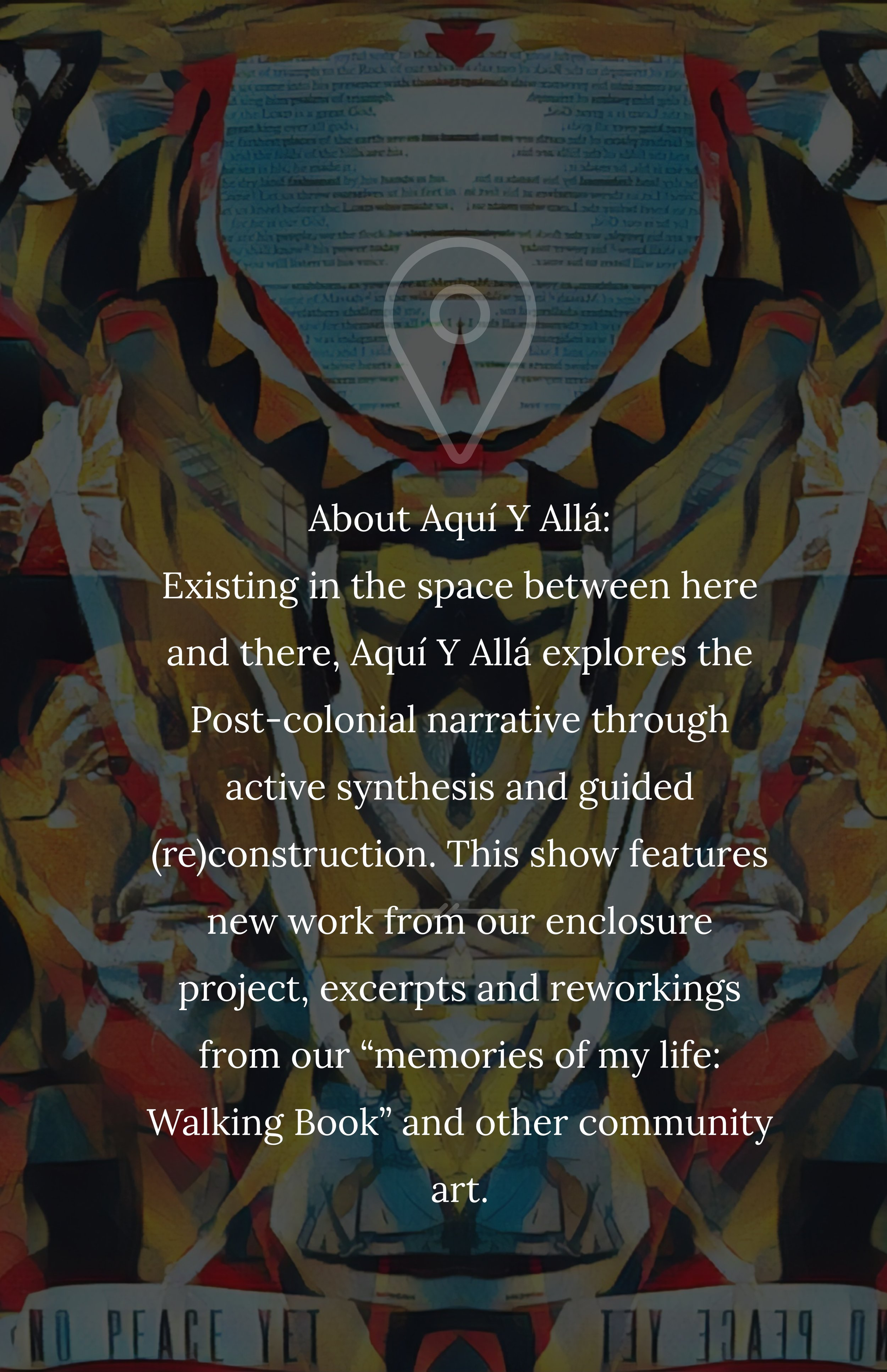 Aquí Y Allá - Easthampton City Arts MAP Gallery, Eastworks, 116 Pleasant St, Easthampton, MA 01027: April 13th – May 5th, 2019
