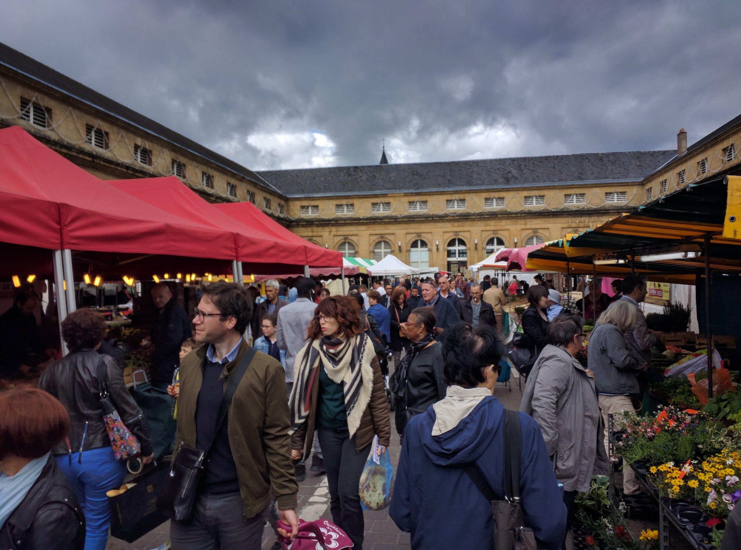 Metz, France Market