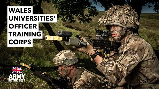 2/3 A final #Ad for the #Wales Universities Officer Training Corps.  #Army #Soldiers #SA80 #British #Wales #AdvertisingPhotographer #Freelancer #Profoto #B2 #Fujifilm #GFX50S #Travel #Advertising #LondonPhotographer #Advert