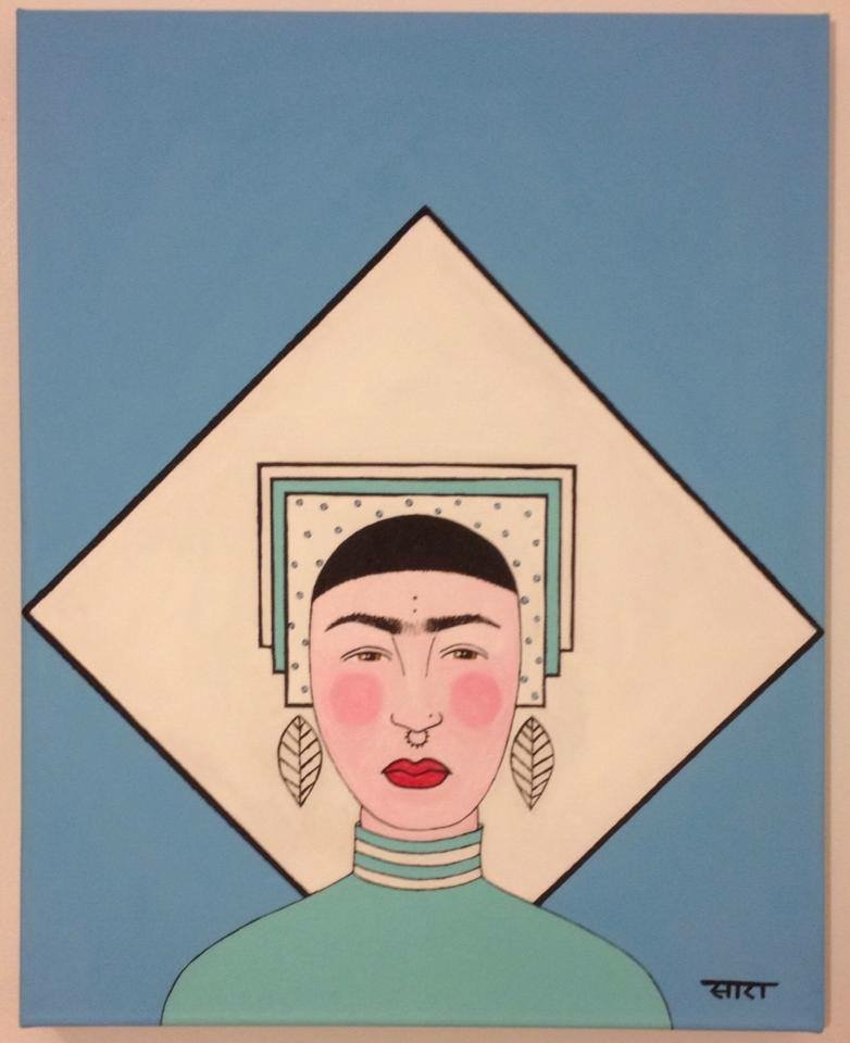 """Me, As Frida"" 2013"