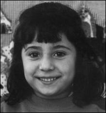 5 year old Estefanía