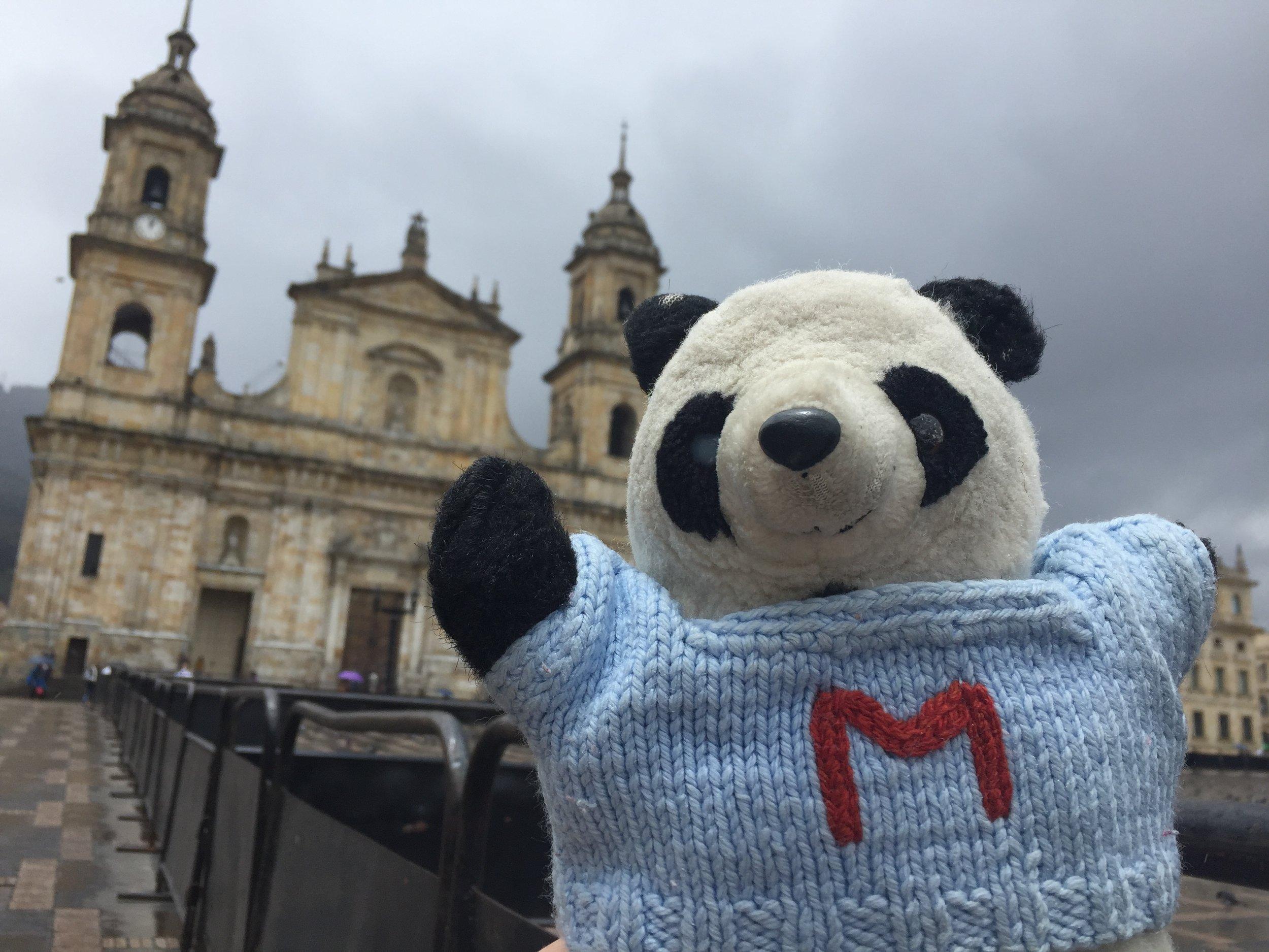 Mario in Bogotá