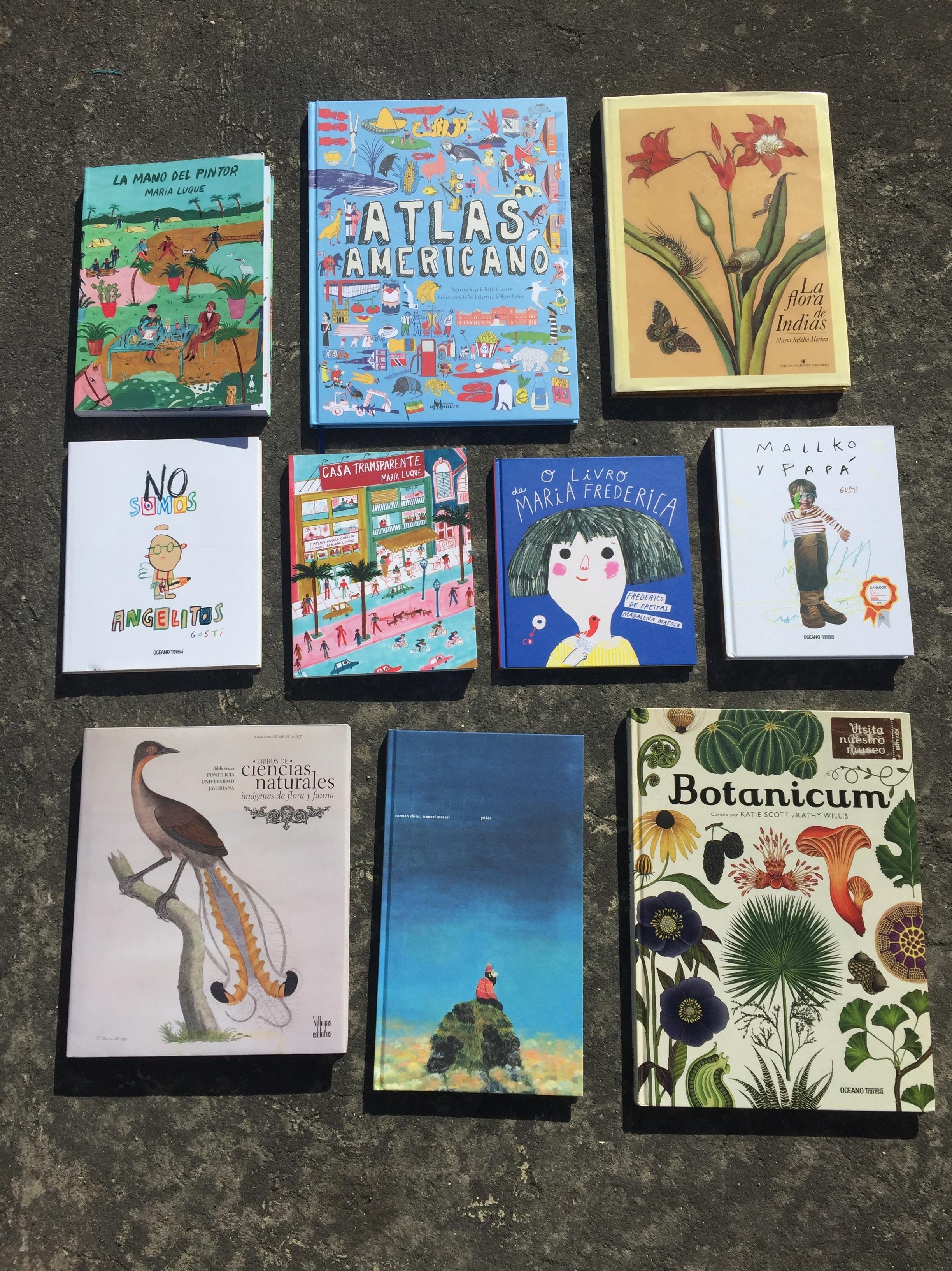 Los libros que compré / The books that I bought