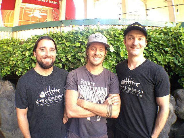 Owners Javi Barberi, Dave Fincher, & Julian Bonfardin are long time Maui residents.