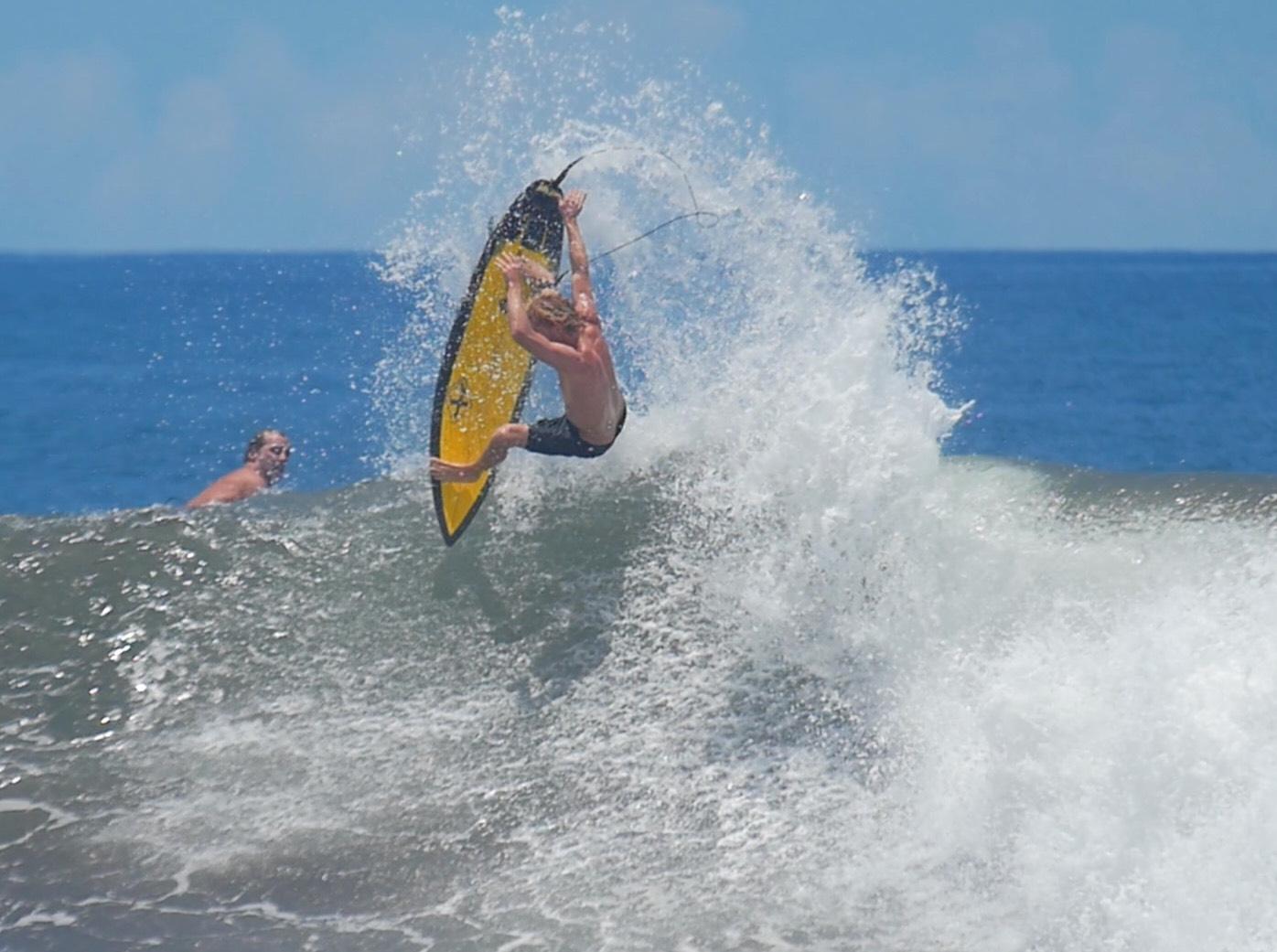 Local Maui surfer Tanner Hendrickson
