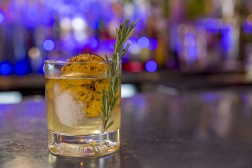 orange brulee cocktail