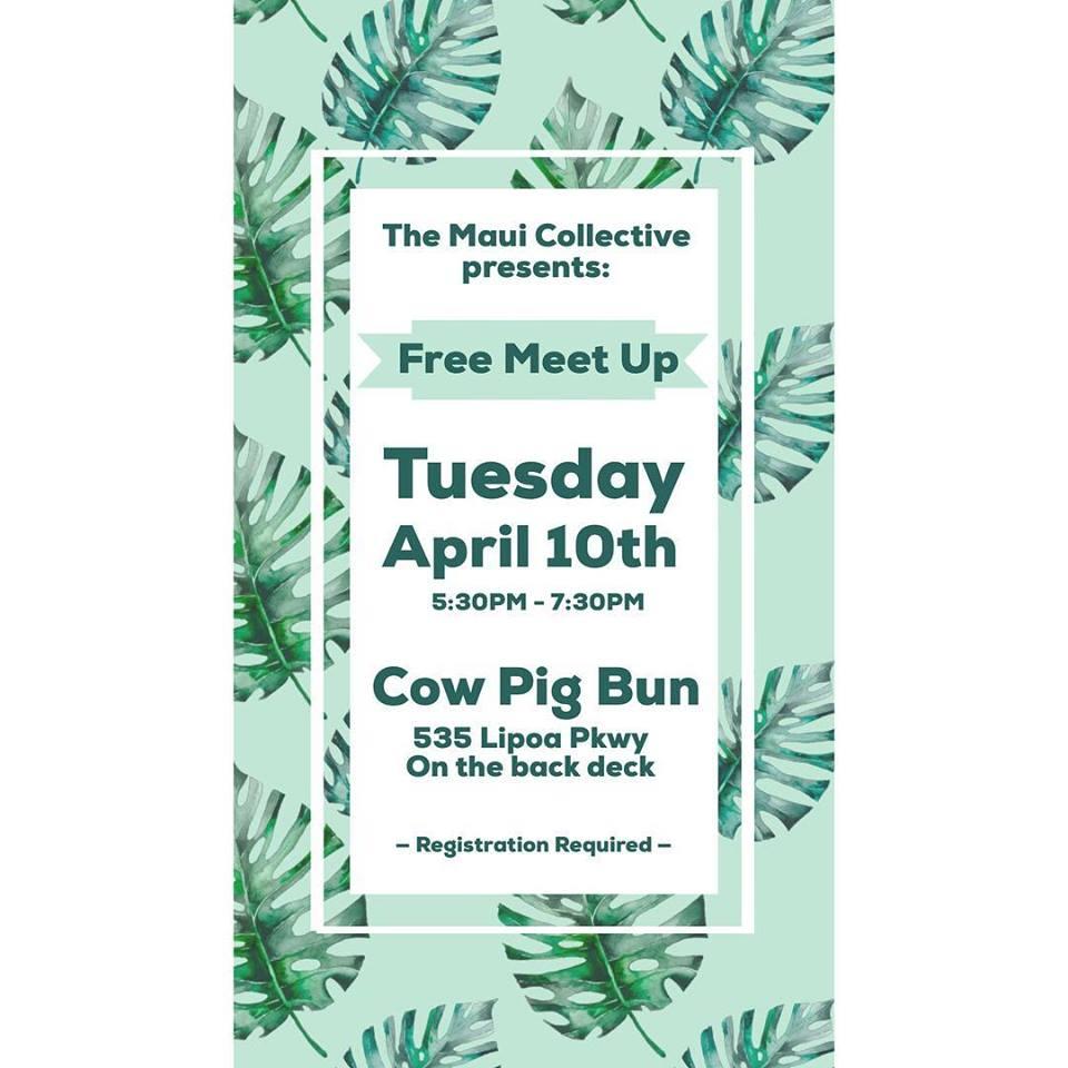 April Meetup Flyer