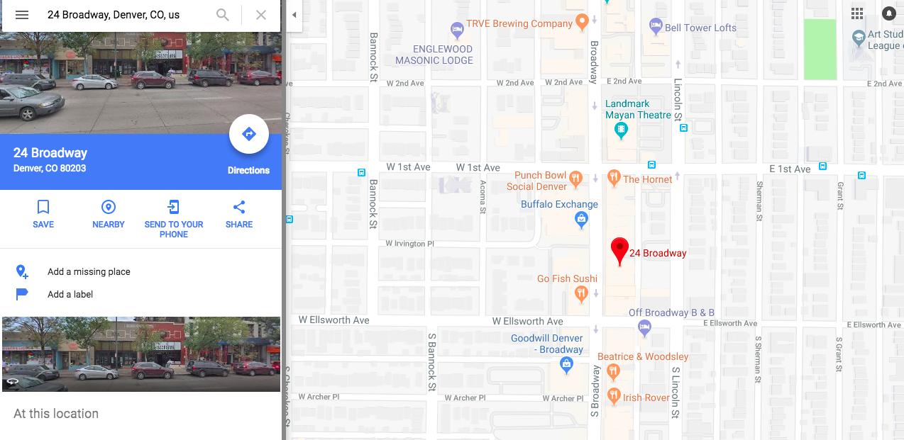 Airbnb Meetup Map