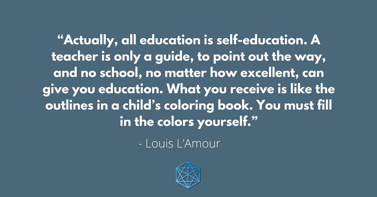 self education quote
