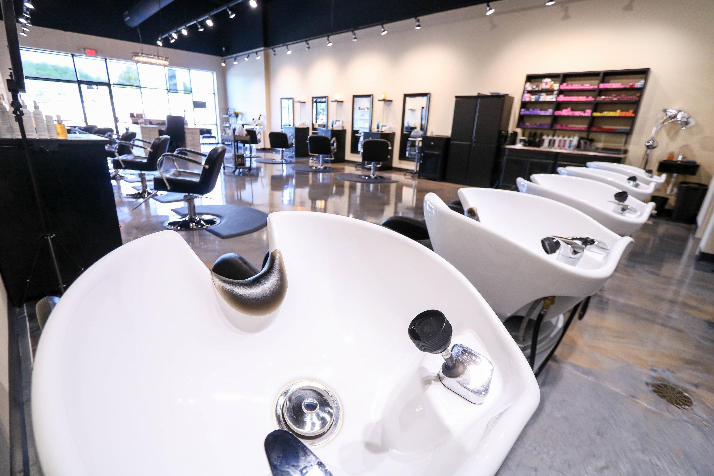 Spoleti Salon in South Austin, Texas in the zip code of 78745.