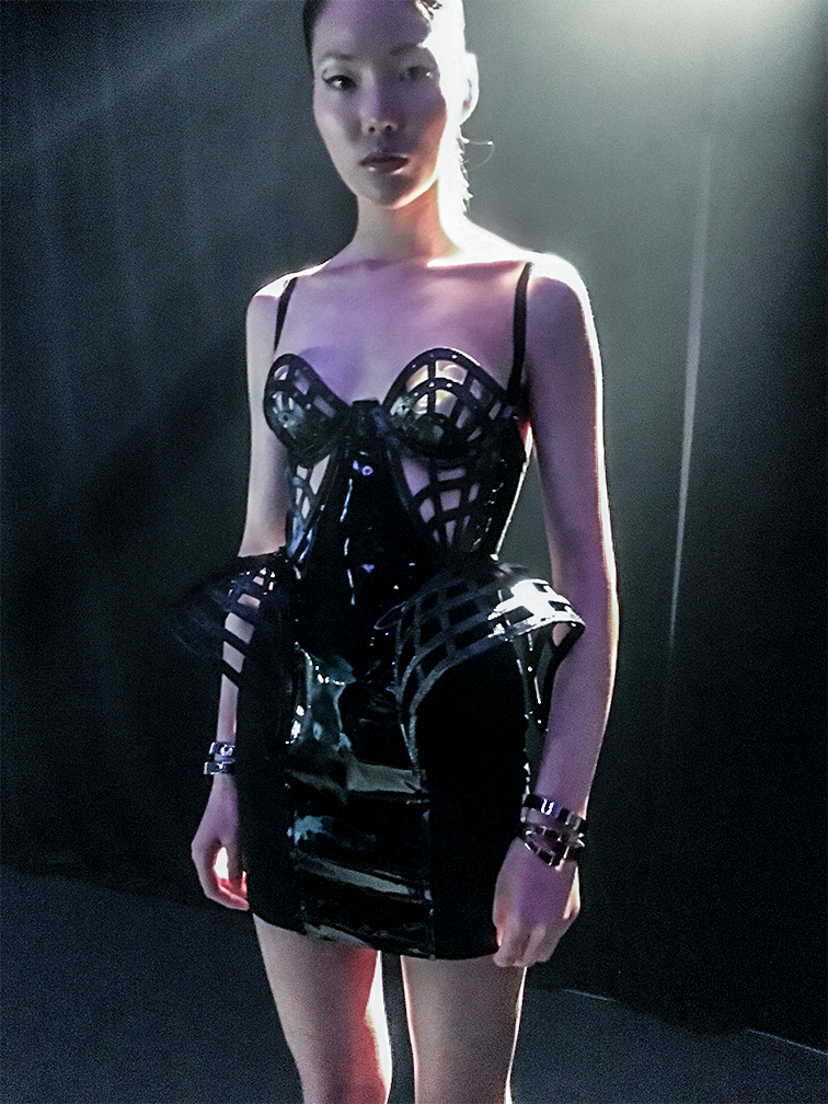 Chromat's Smart Dress On Display at the Launch Party