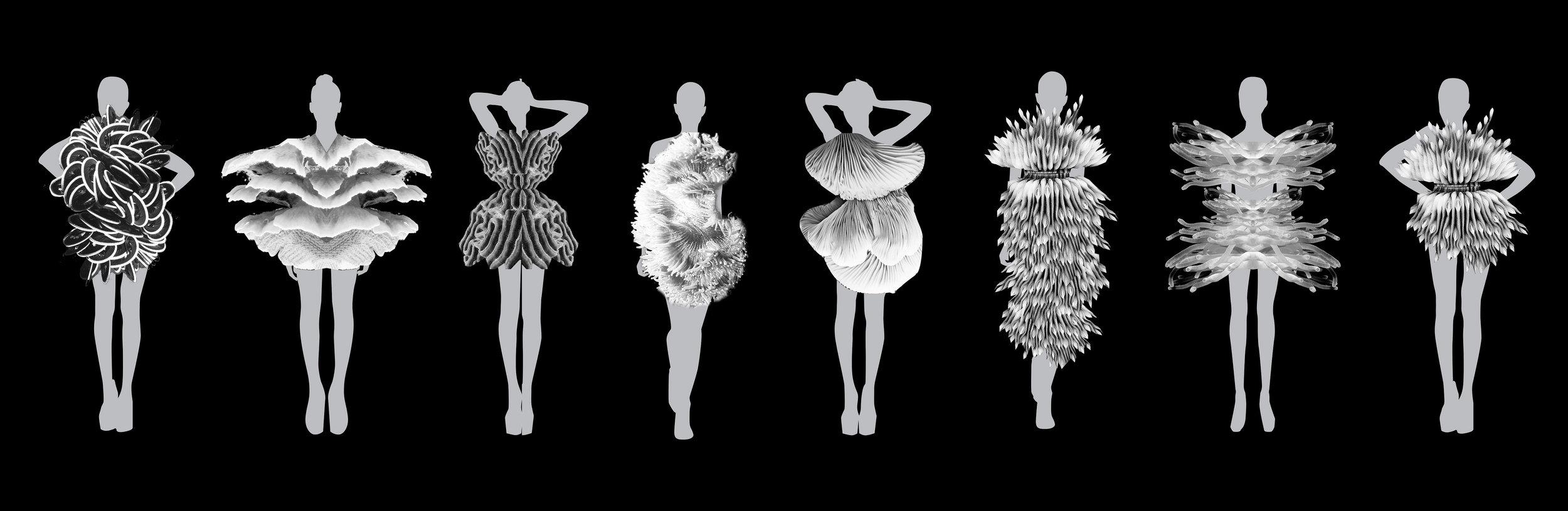 Reefstone garment sketches.