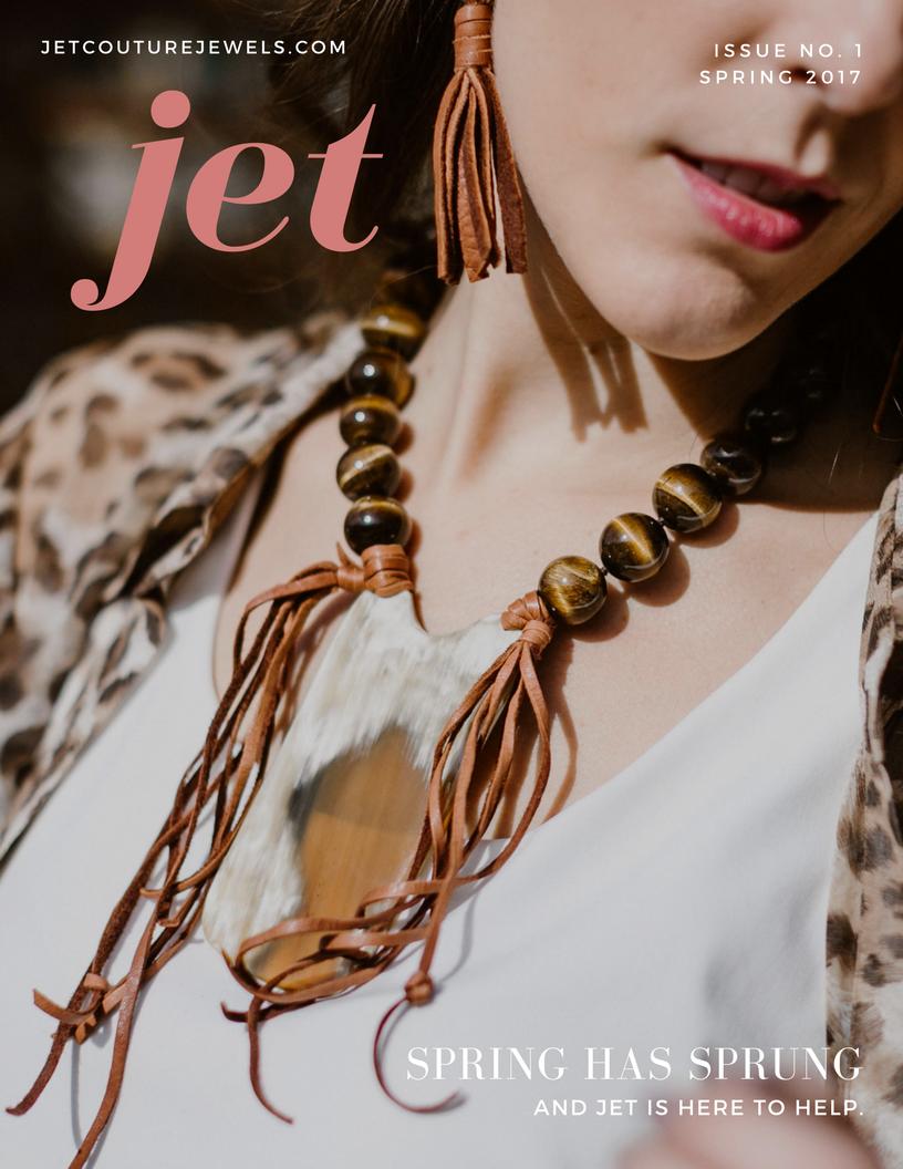 Jet Spring Newsletter Cover