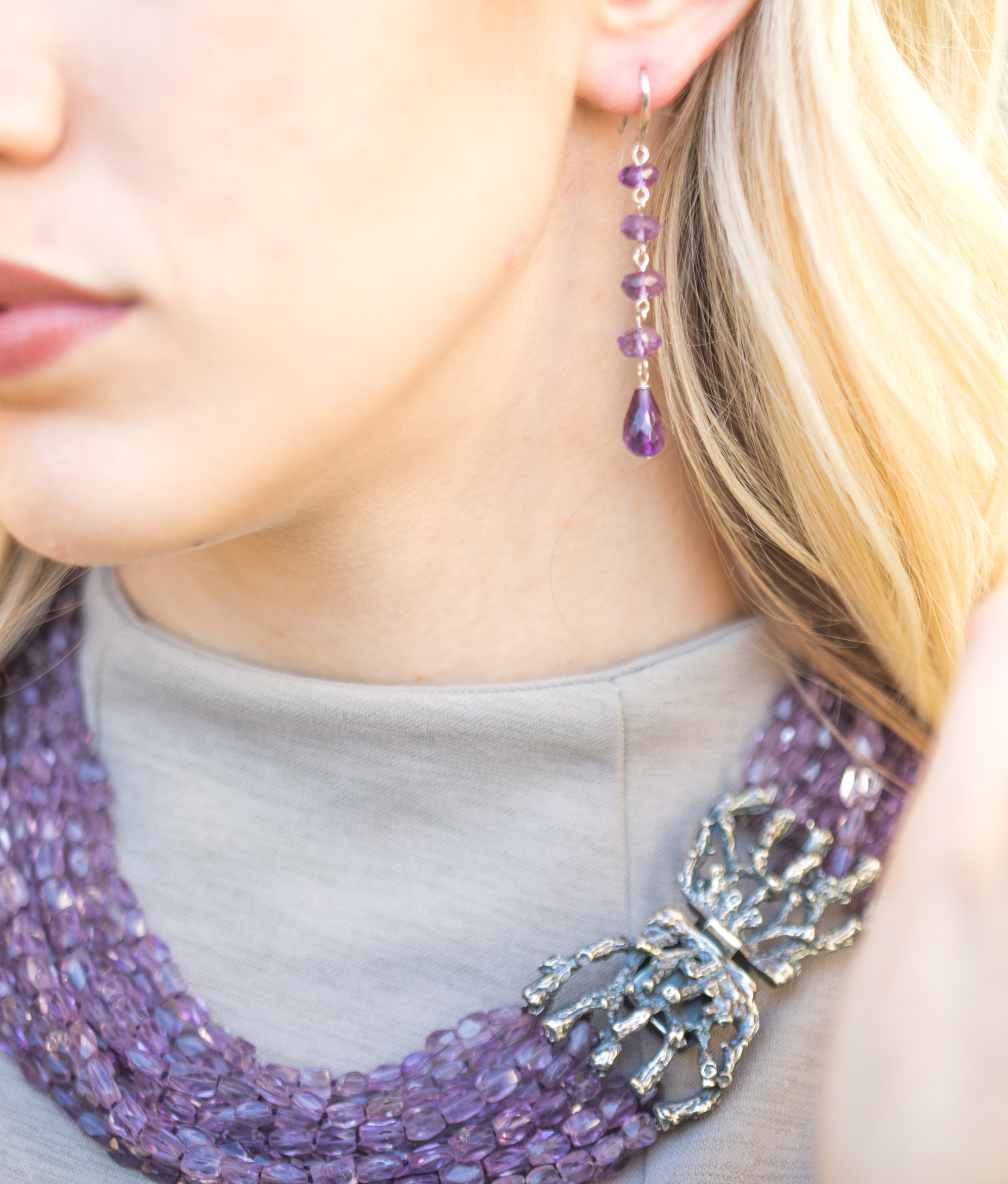 Amethyst Jewelry - Jet Couture Jewels