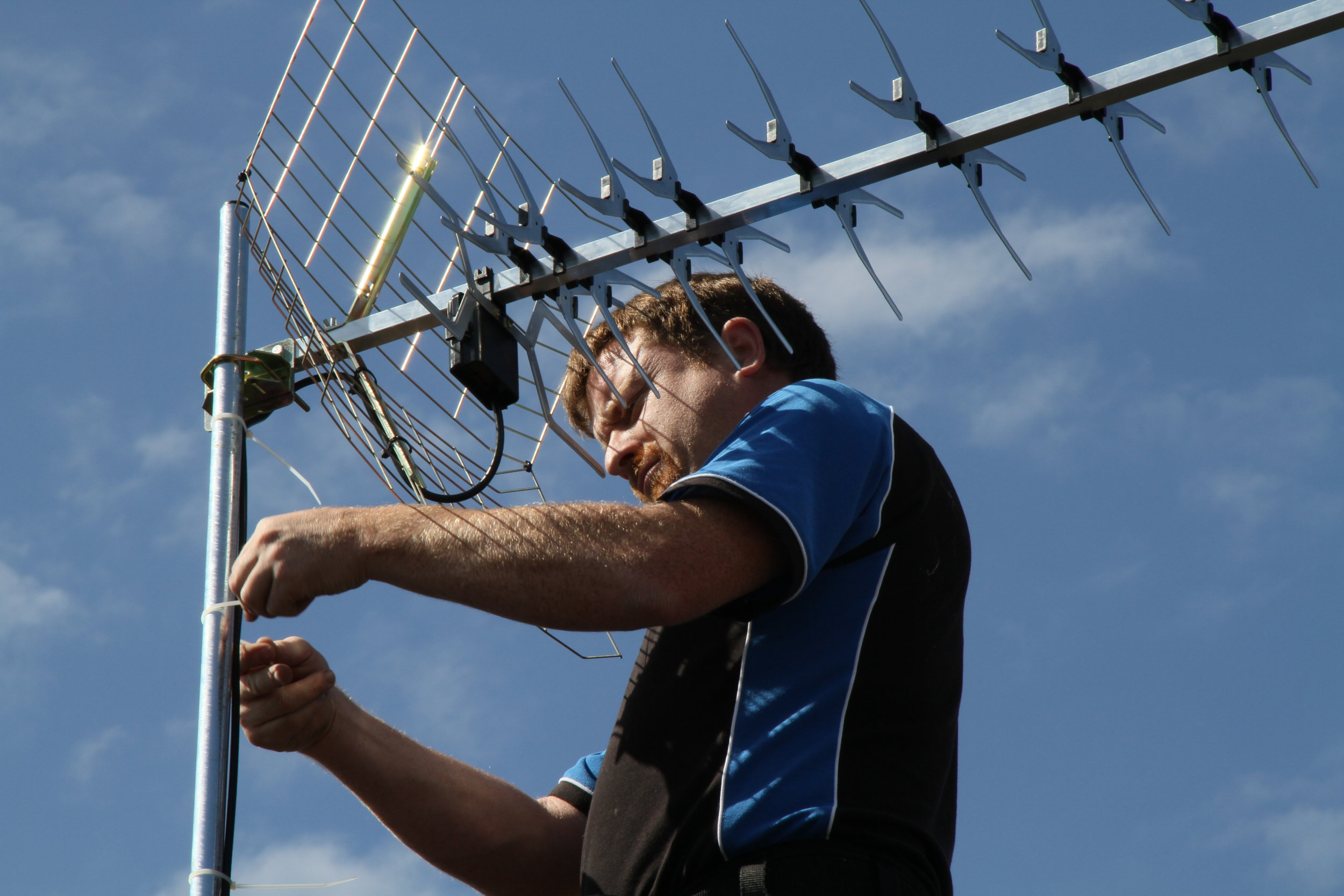 connecting Digital TV Aerials - High quality television sets are pointless without the best Digital Aerial System. Professionally connected and set up aerial systems will provide you with years of consistent and reliable television viewing.