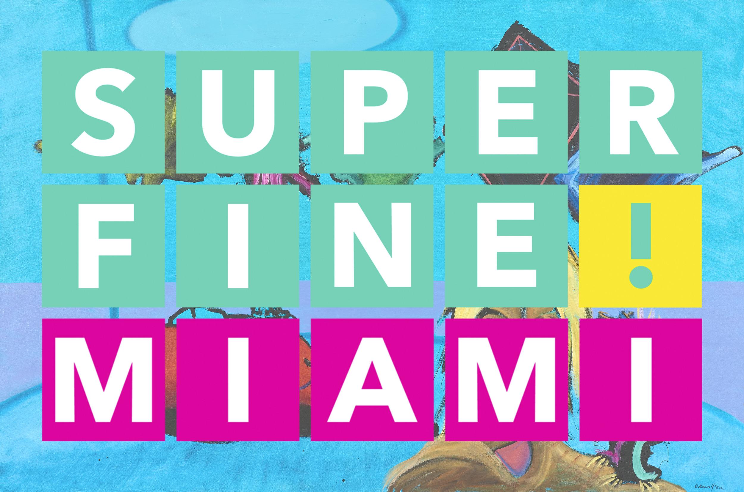 Image: Contemplation day on Titanus IV. 6' x 4'. Superfine! Miami logo.