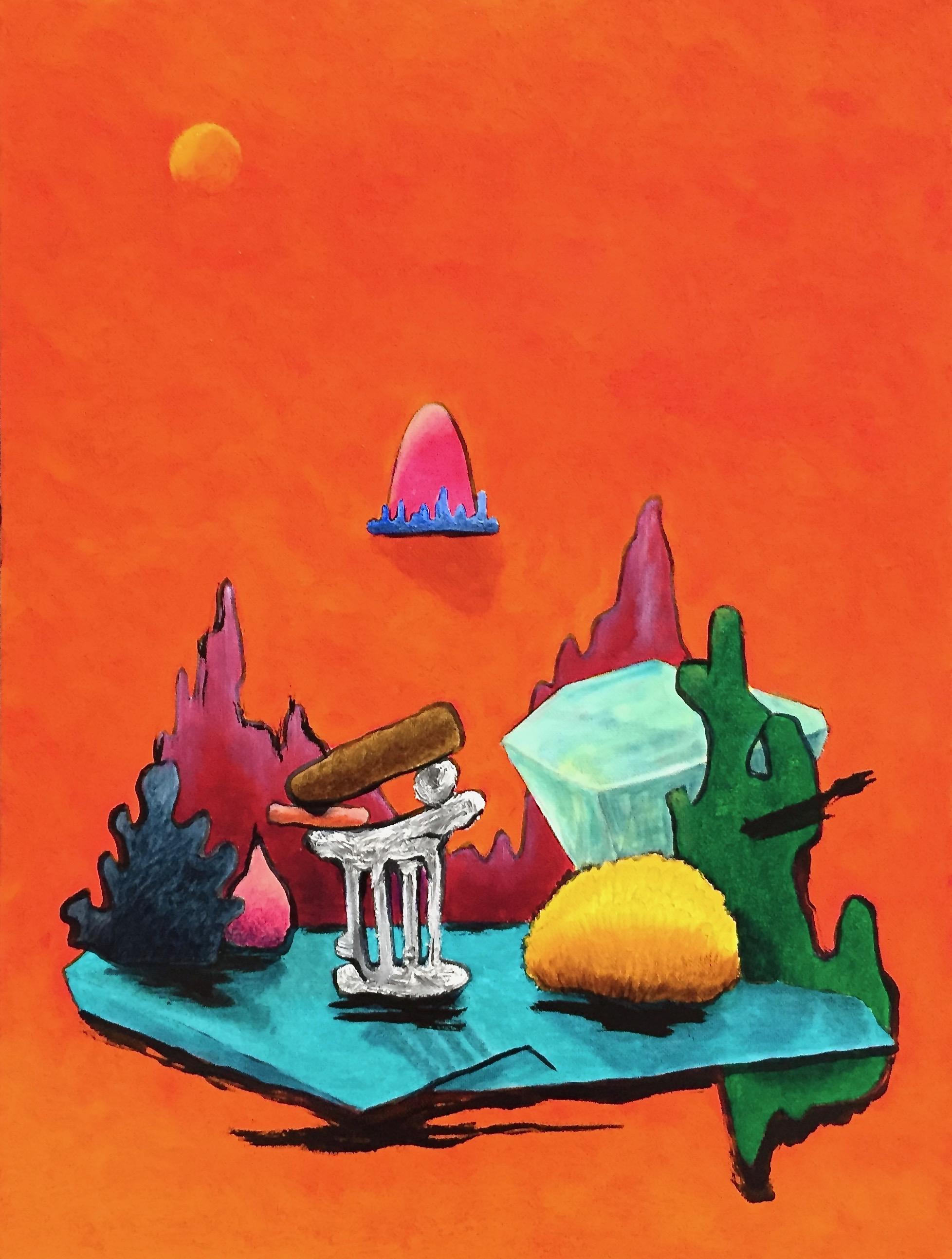 5.  Ruins meditation V 1x24 inch  1500 doll.jpg