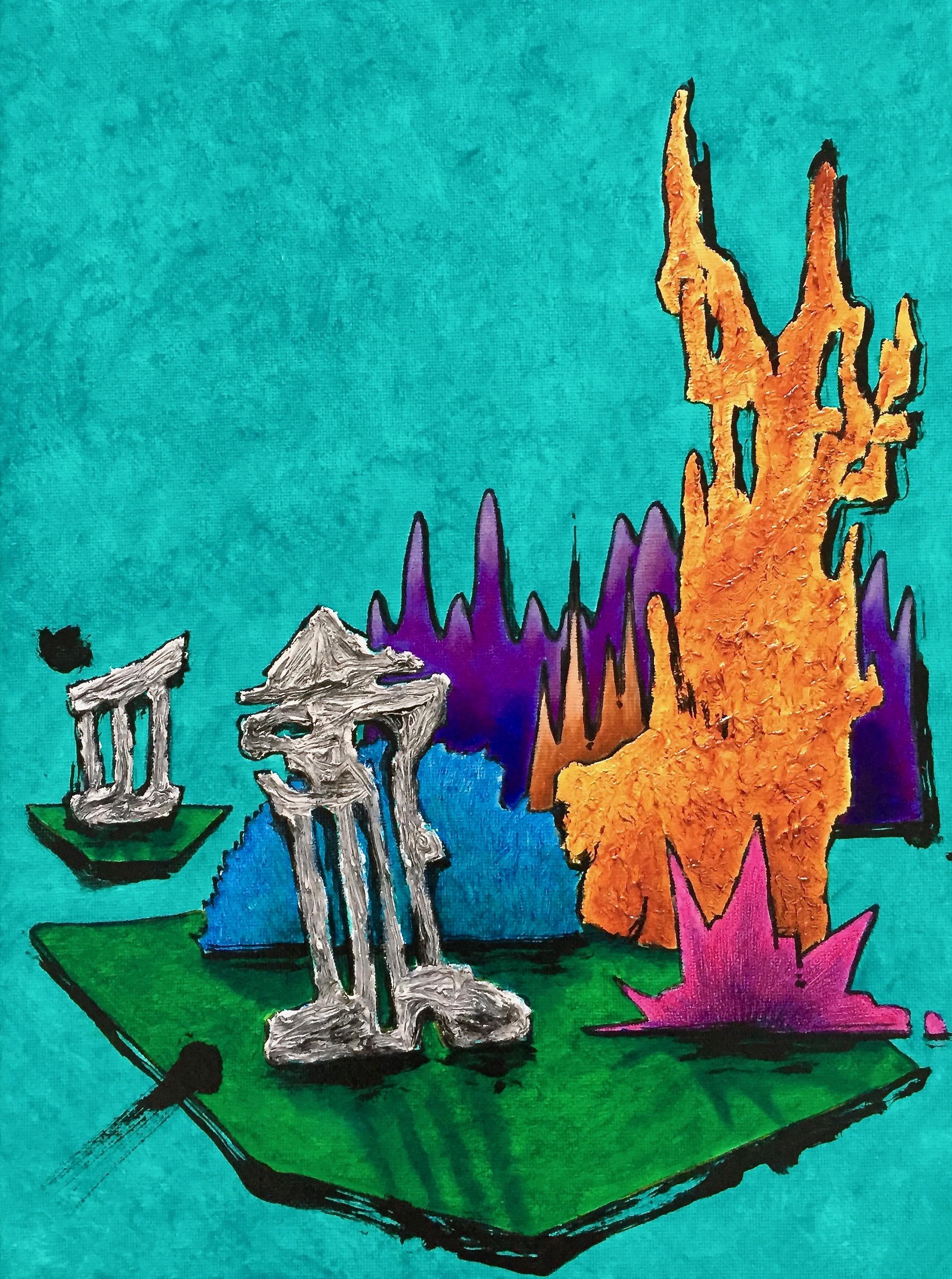 12.  Ruins meditation XII. 20x20 inch. 1800 doll.jpg