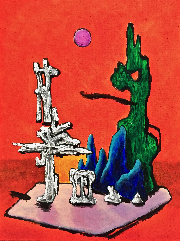 3.  Ruins meditation III 18x24inch 1500 doll.jpg