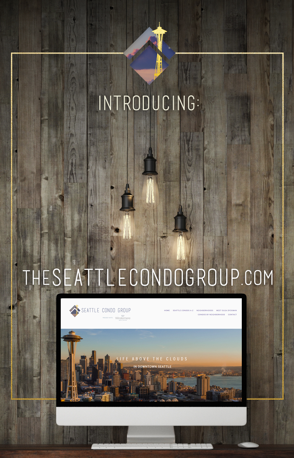 The new website for The Seattle Condo Group