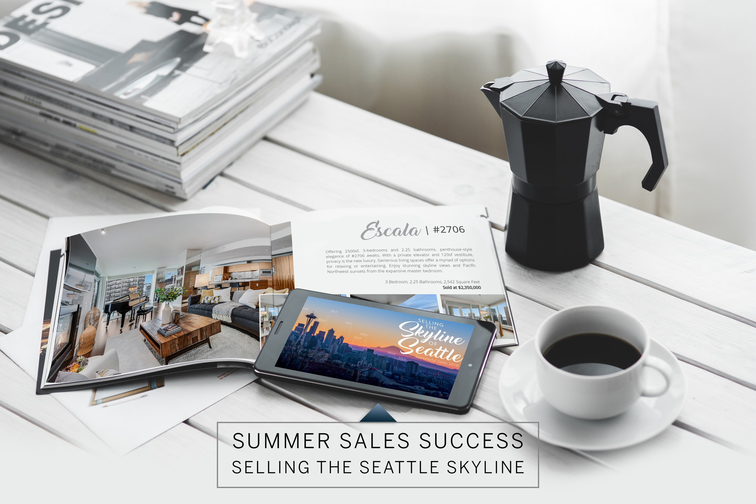 Selling the Skyline of Seattle | The Seattle Condo Group