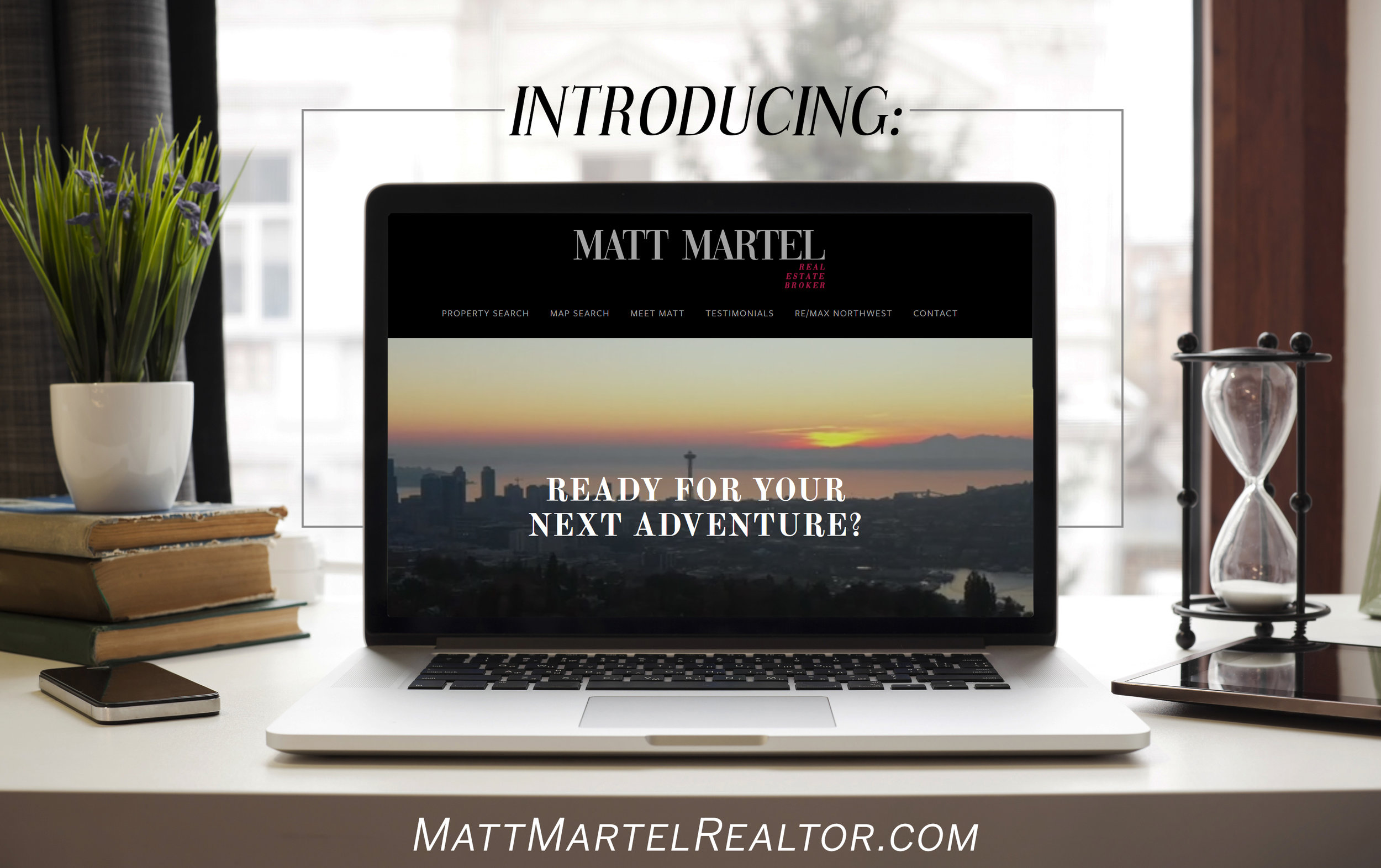 Website for Matt Martel, RE/MAX Northwest Real Estate Broker