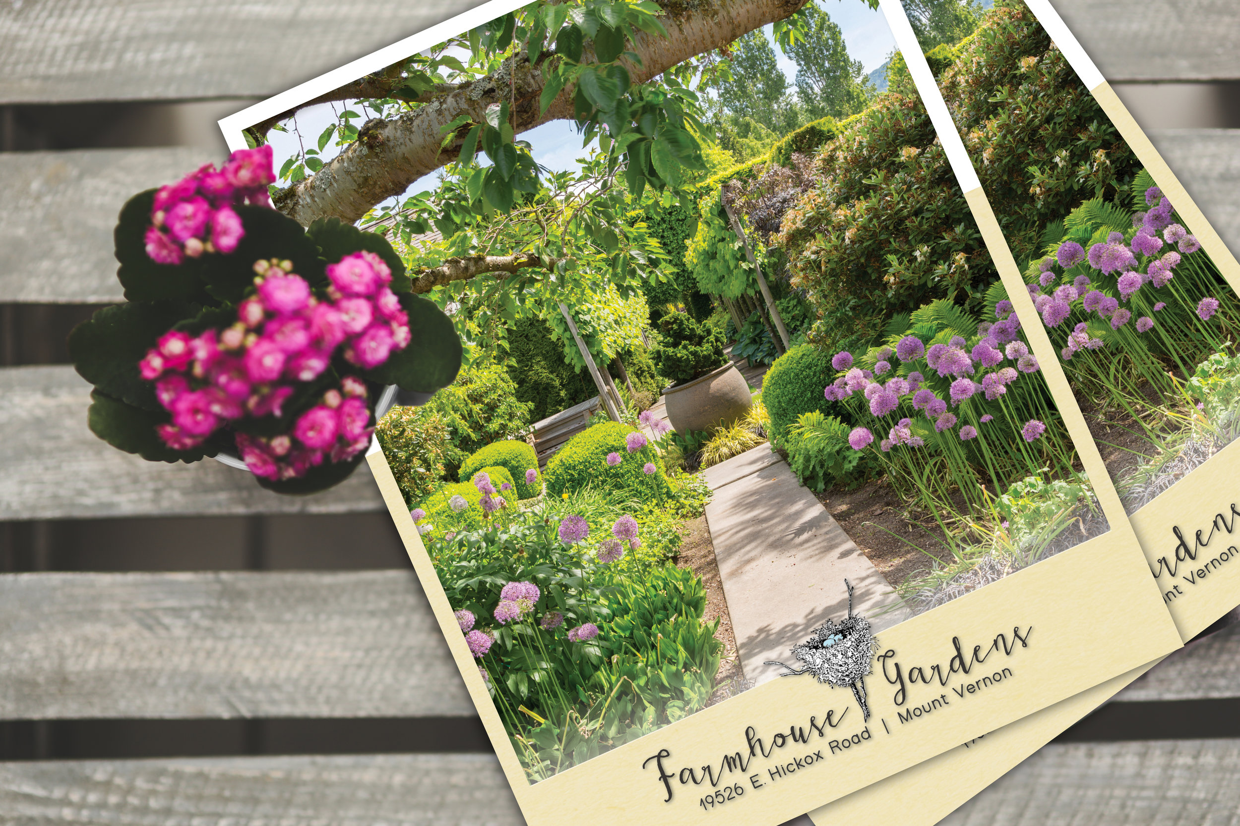 Finished Brochure for Farmhouse Gardens in Mount Vernon, Washington |  Sold at $1,550,000