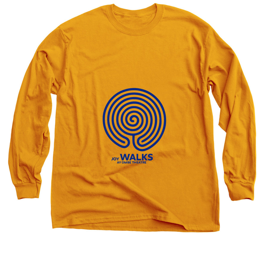 our Joy Walks t-shirt designed by Mabel Manzano  https://www.bonfire.com/store/bodega-ay-ombe-t/