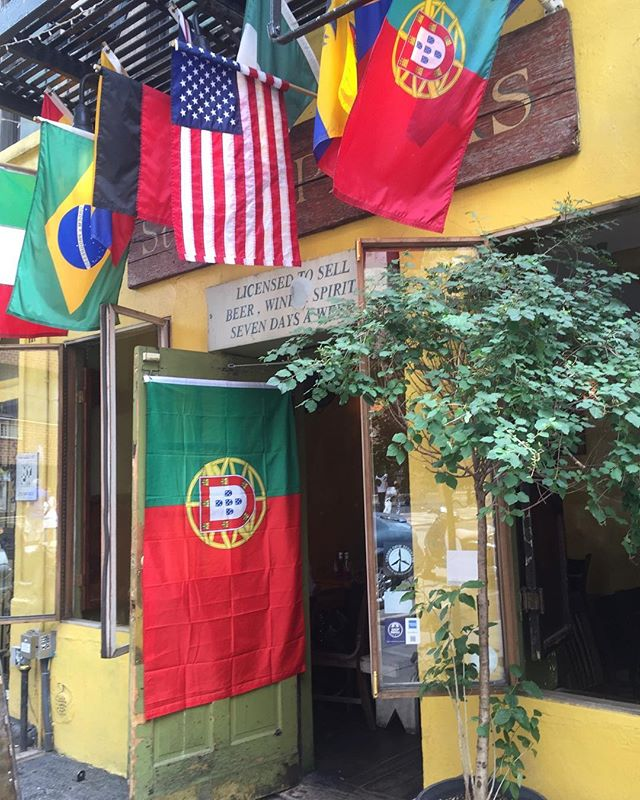 We are open across the street at 118 st. Marks place at our sister Bar! Come watch the games with us! At St. Dymphnas! Allez Portugal 🇵🇹 ❤️