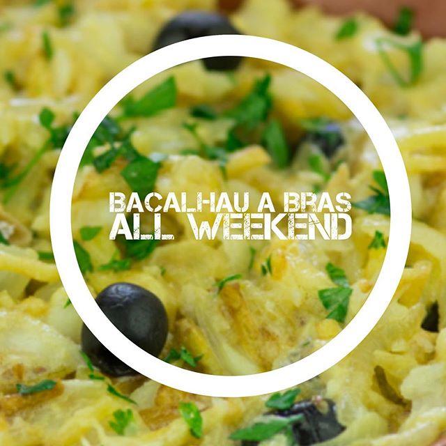 Bacalhau ! #weekend #eastvillage #guiness #leedgold #portugal #nyc #codfish #bacalhau #organic #happy  #family  #cheflife #tavern
