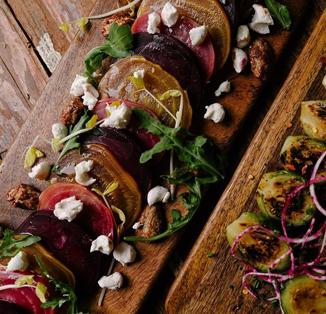 It's beets season ! #beets #organic #farmtotable #sustainable #happy #farmtotable #nyc #eastvillage #cheflife #vegan #glutenfreerecipes #taberna97