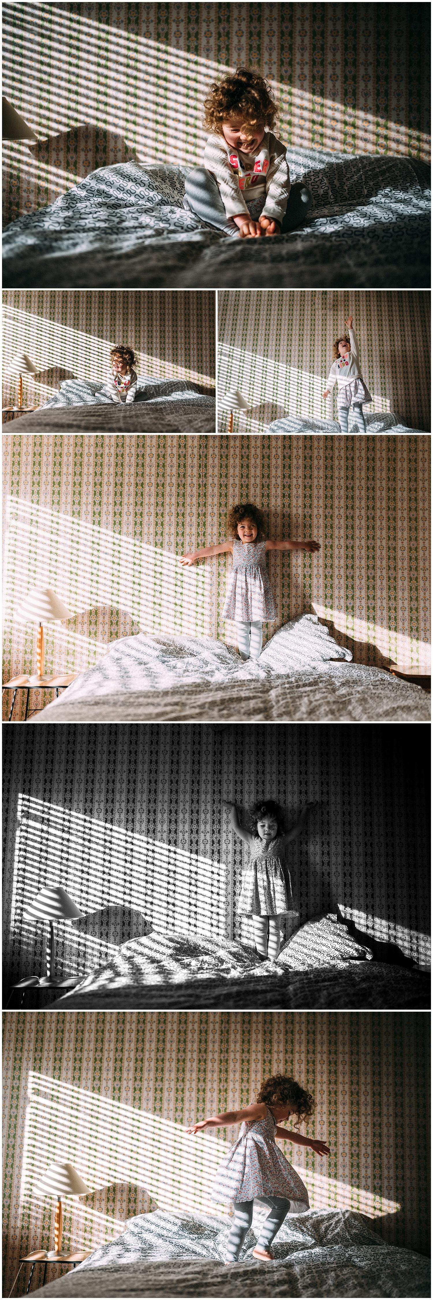 The light...the wallpaper...the girl...