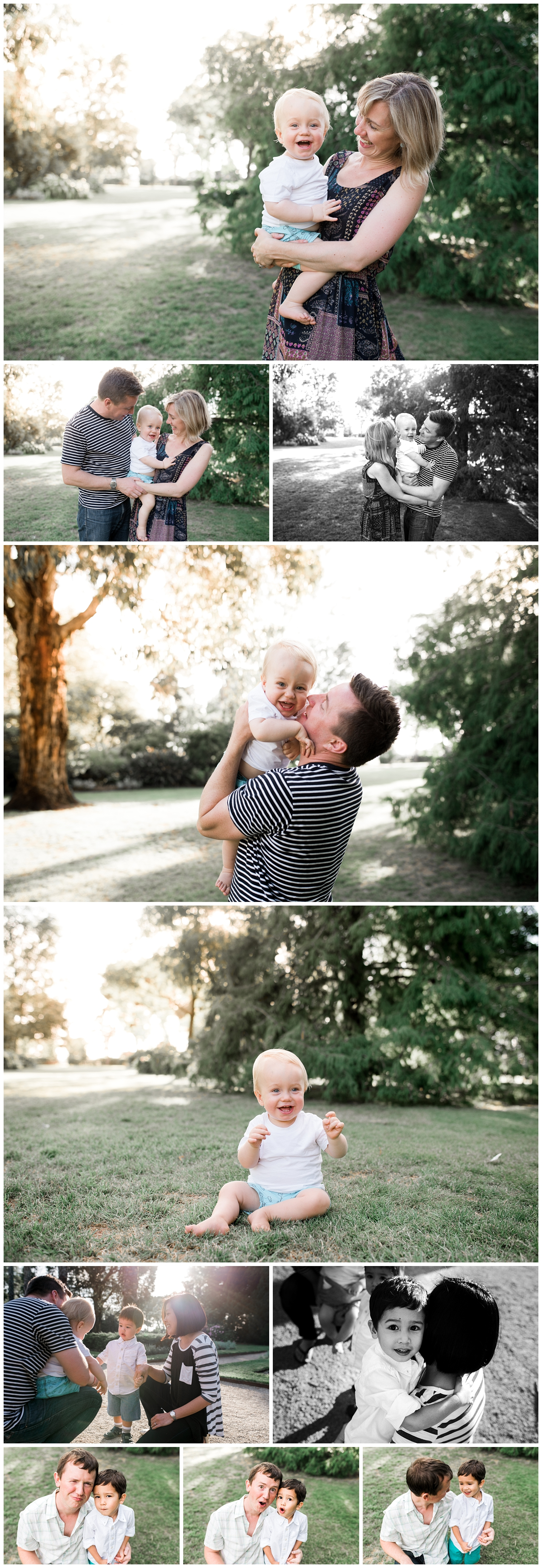 Williamstown extended family photographer