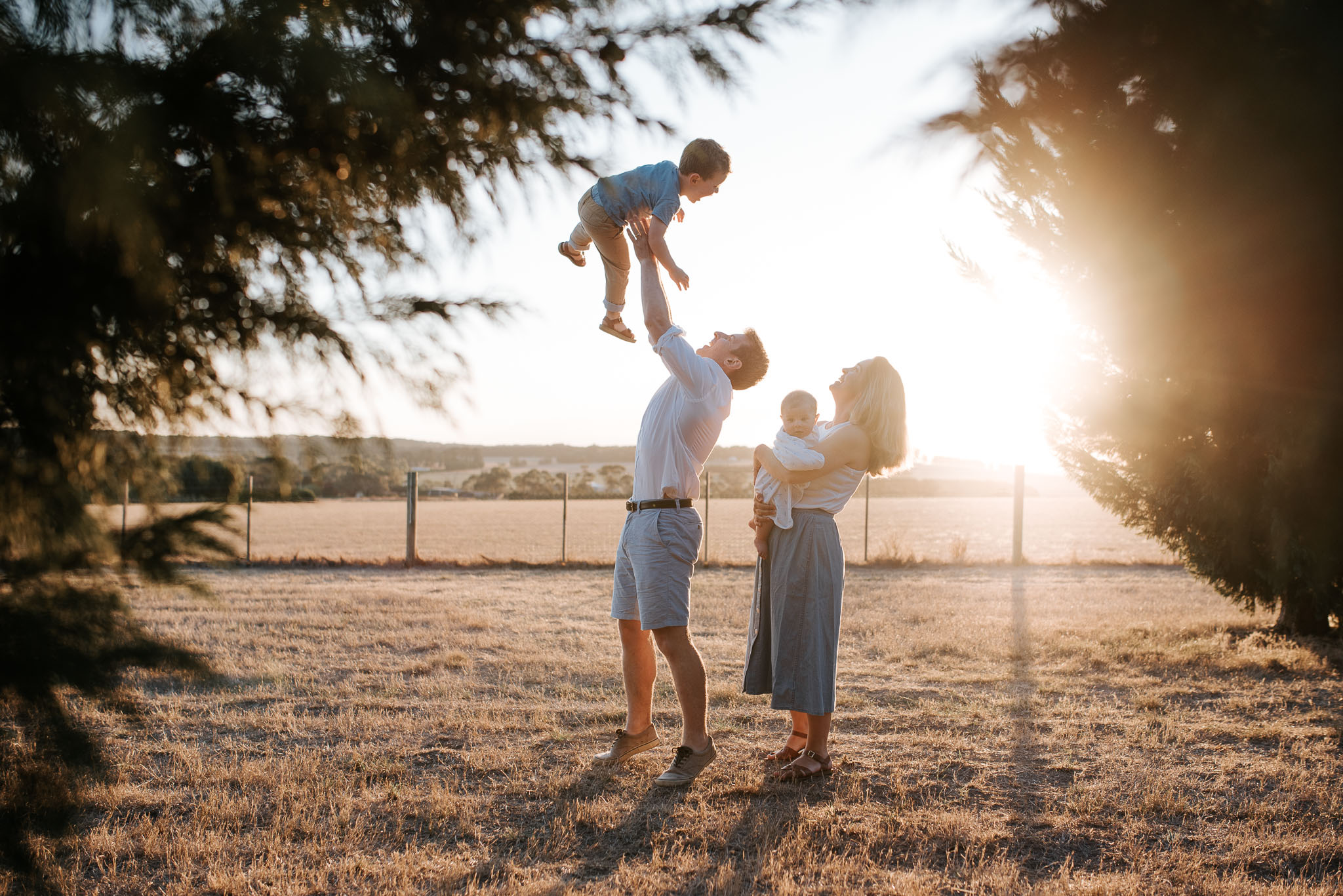 best time of day for family photography session