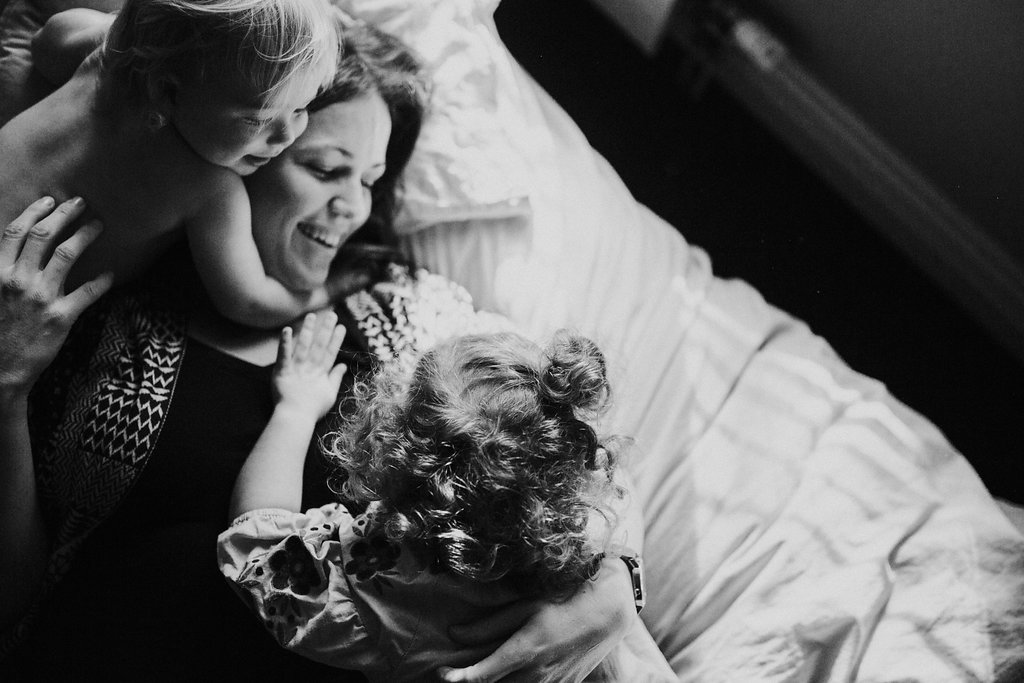 Me and my babies - Image credit: Amy Rushbrook Photography