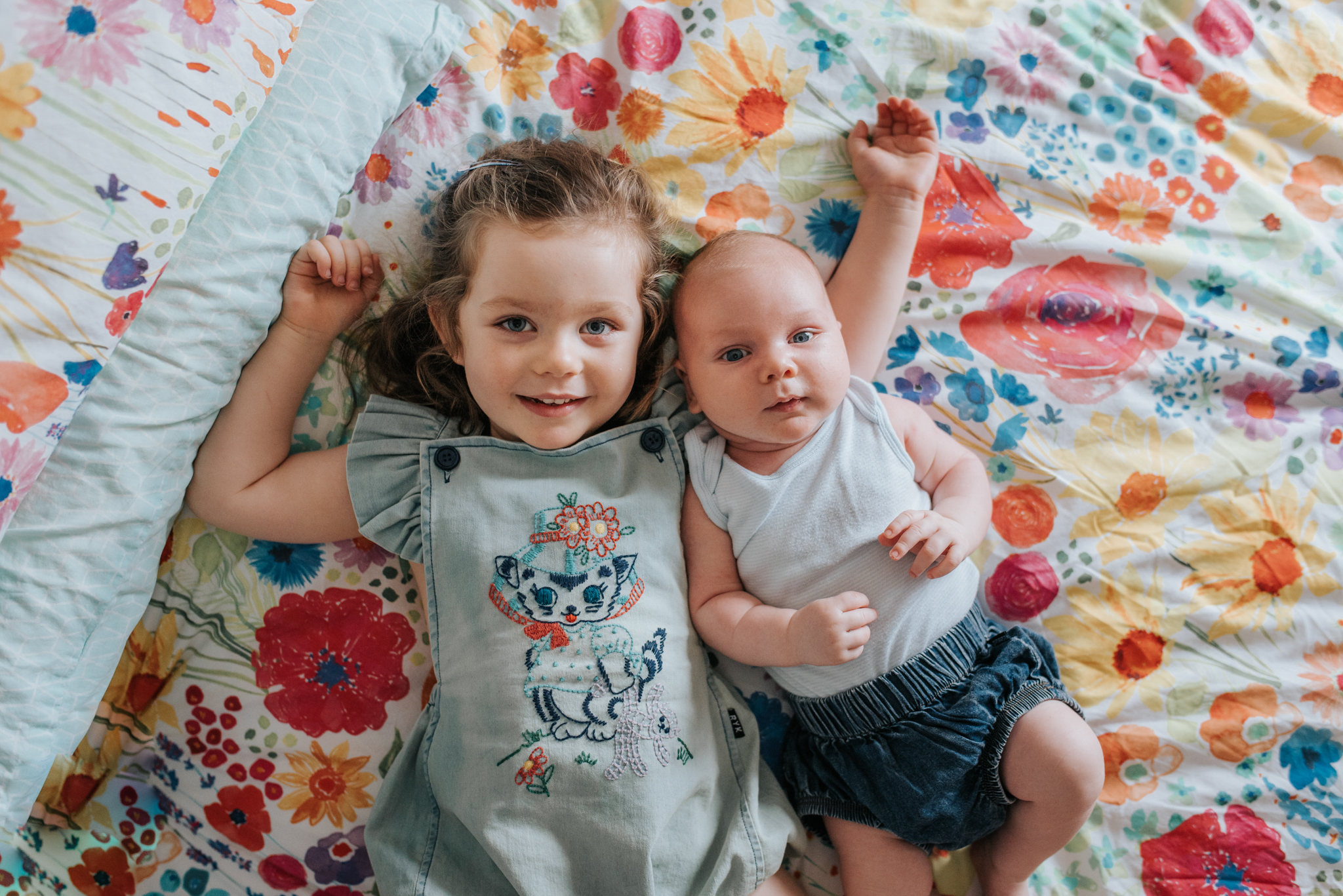 "dish out the compliments - ""ohhh you are the BEST big sister in the whole world, I love how gentle you are with your baby brother, how lucky is your baby brother to have you as his big sister"""