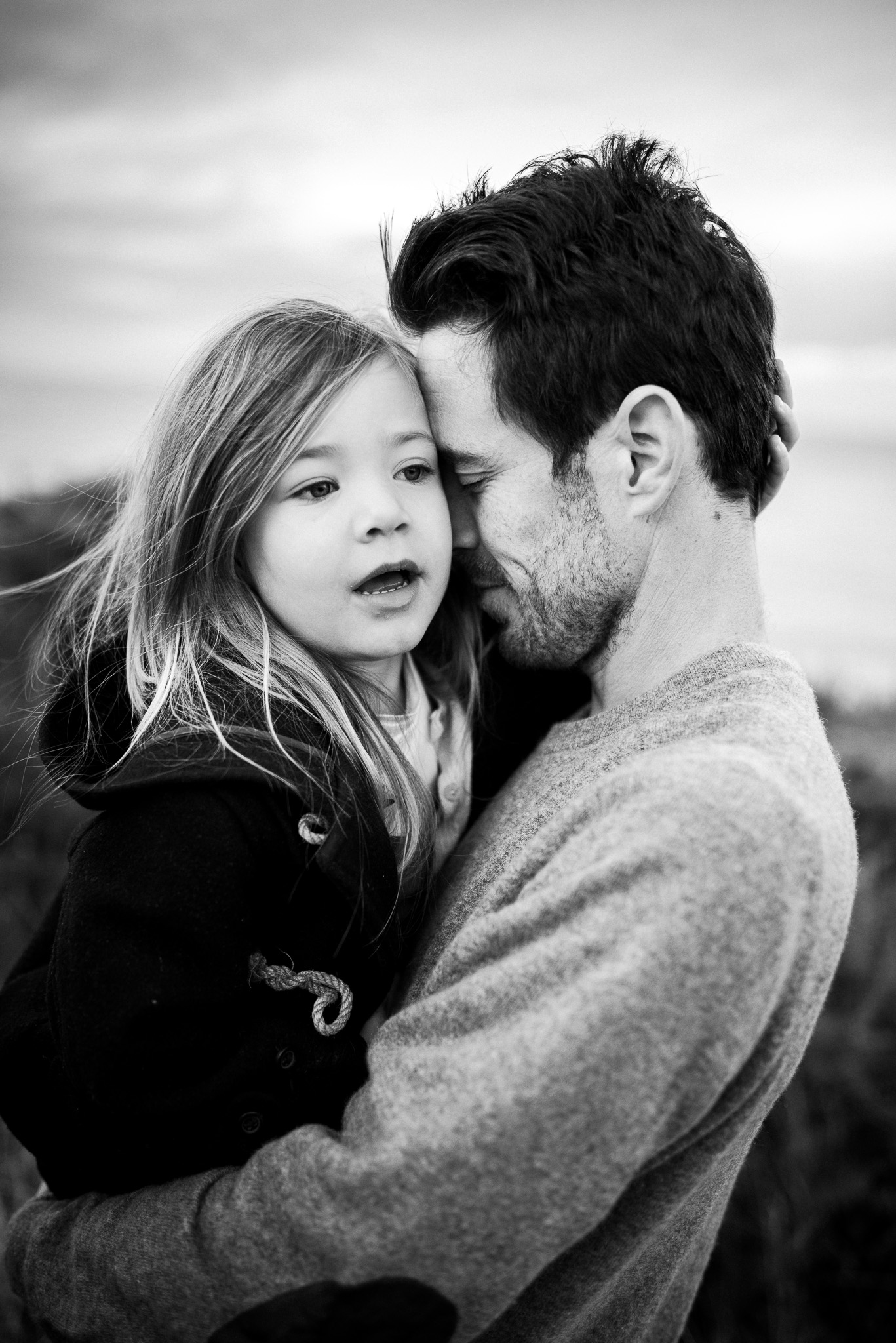 heartfelt father and daughter image + melbourne family photographer, Jess Worrall Photography